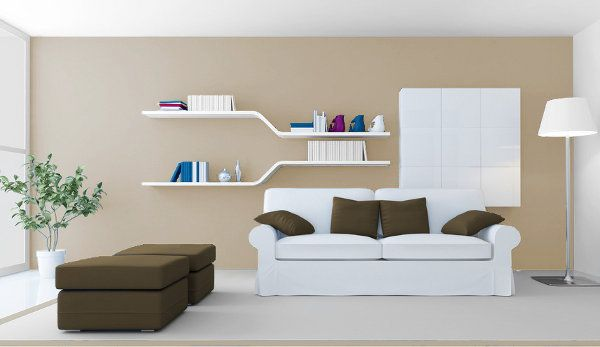 Decoración de Paredes con Tonos Beige - Para Más Información Ingresa en: http://fotosdesalas.com/decoracion-de-paredes-con-tonos-beige/