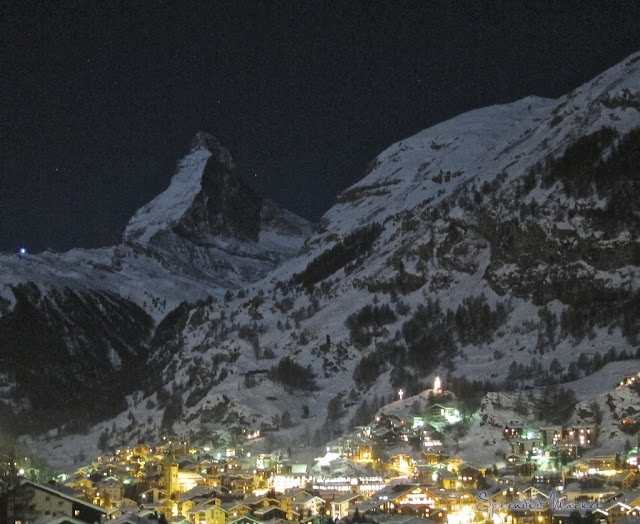 The Aps... Cervinia, Italy...