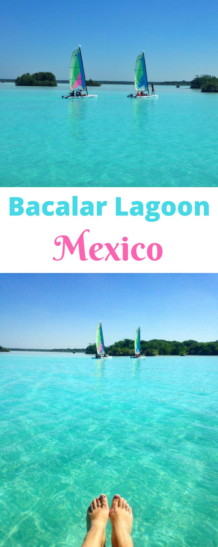 Bacalar Lagoon, Mexico - most beautiful lake in the world.