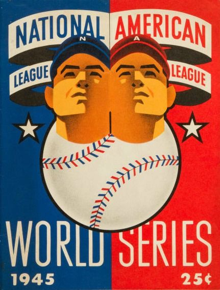 1945 World Series Chicago Cubs vs Detroit Tigers