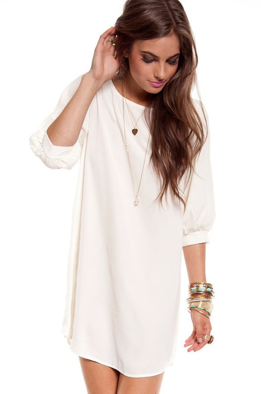 excited for this dress's arrival! good basic
