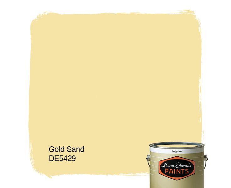 Dunn Edwards Paints Paint Color Gold Sand DE5429