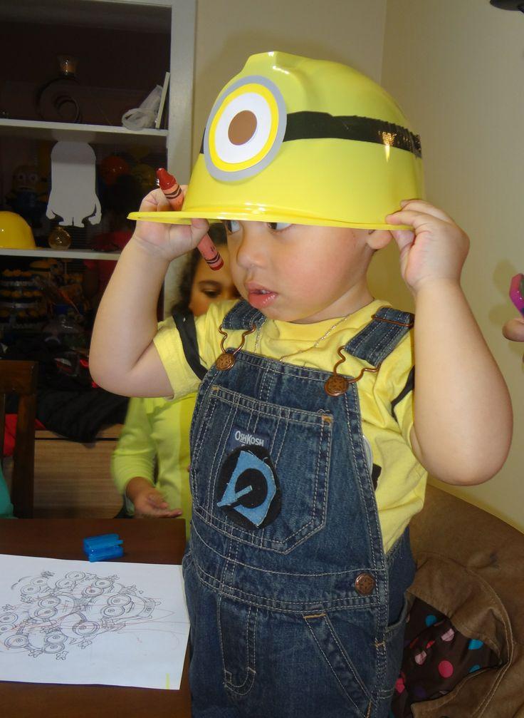 Minion Birthday Party minion birthday hat