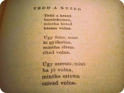 Csak egy magyar vers :)