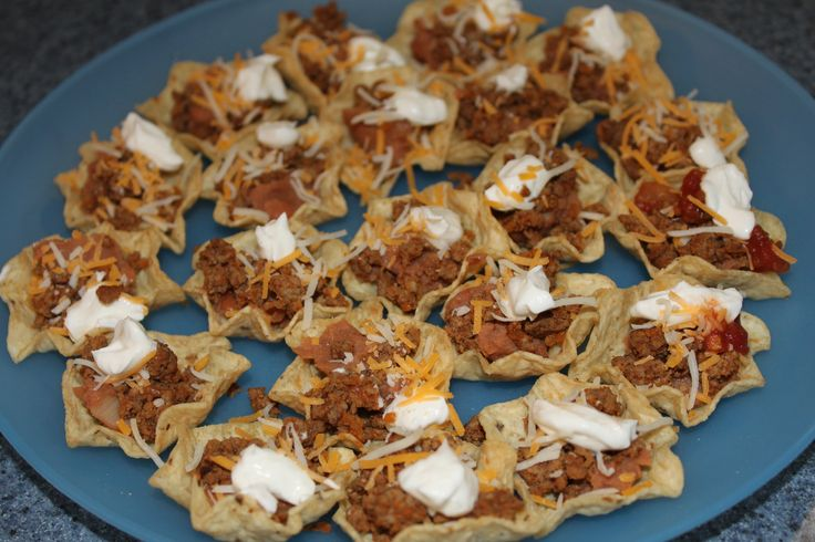 Easy Finger Food Recipes   Mini Taco Cups   Penny's Food Blog