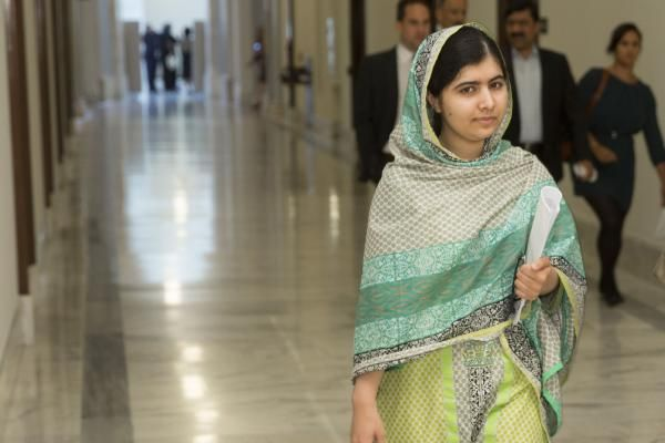 The United Nations announced Monday that it designated Nobel Peace Prize Laureate Malala Yousafzai a U.N. messenger of peace.