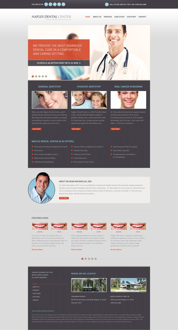 Custom UX Medical Website Design / www.inmode.com by Inmode Interactive Projects , via Behance