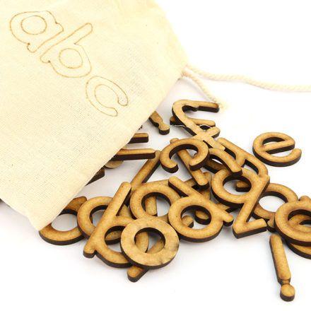 Alphabet activity and travel bag.