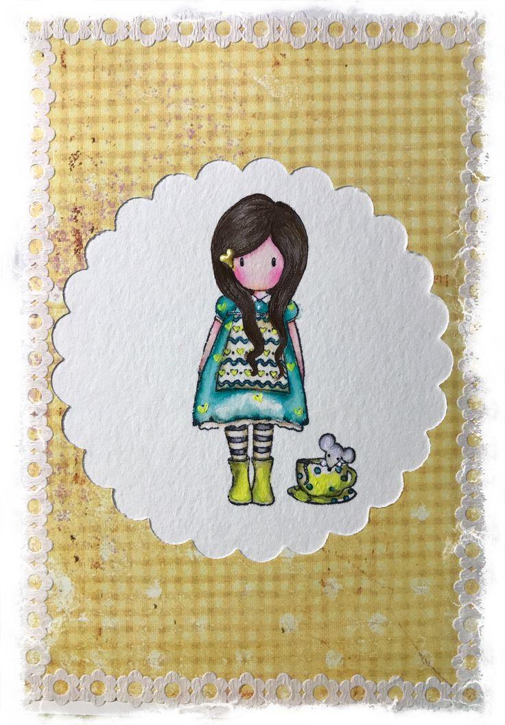Santoro … The Little Friend  Gorjuss - Card making