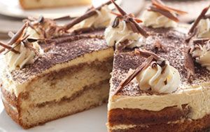 Golden Cloud TIRAMISU DESSERT CAKE