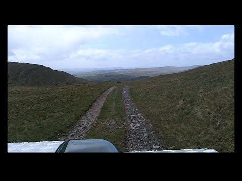 Breasthigh Road May 2015 - Lake District, Cumbria, UK Green laning Land Rover Defender TD5 - YouTube