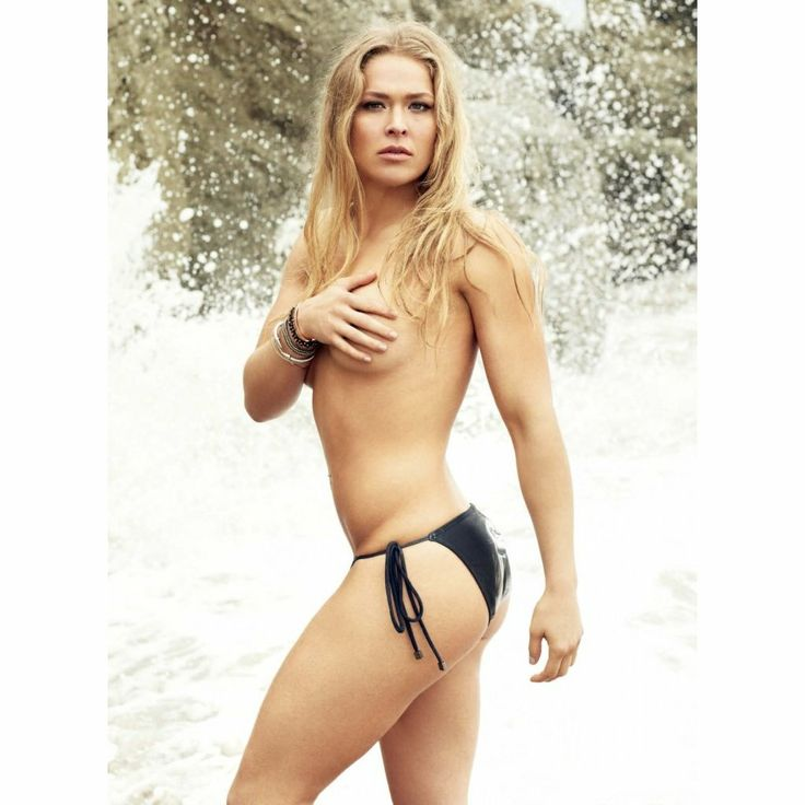 Think, what Hot ronda rousey maxim not the