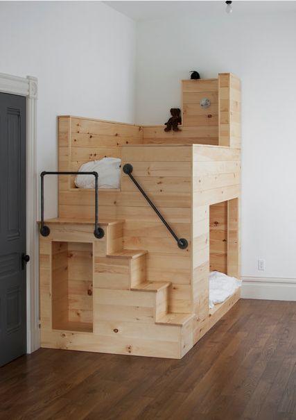 Les lits superposés… | Moltodeco: