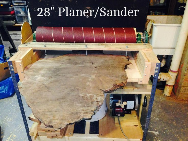 perfect diy wood thickness planer 11