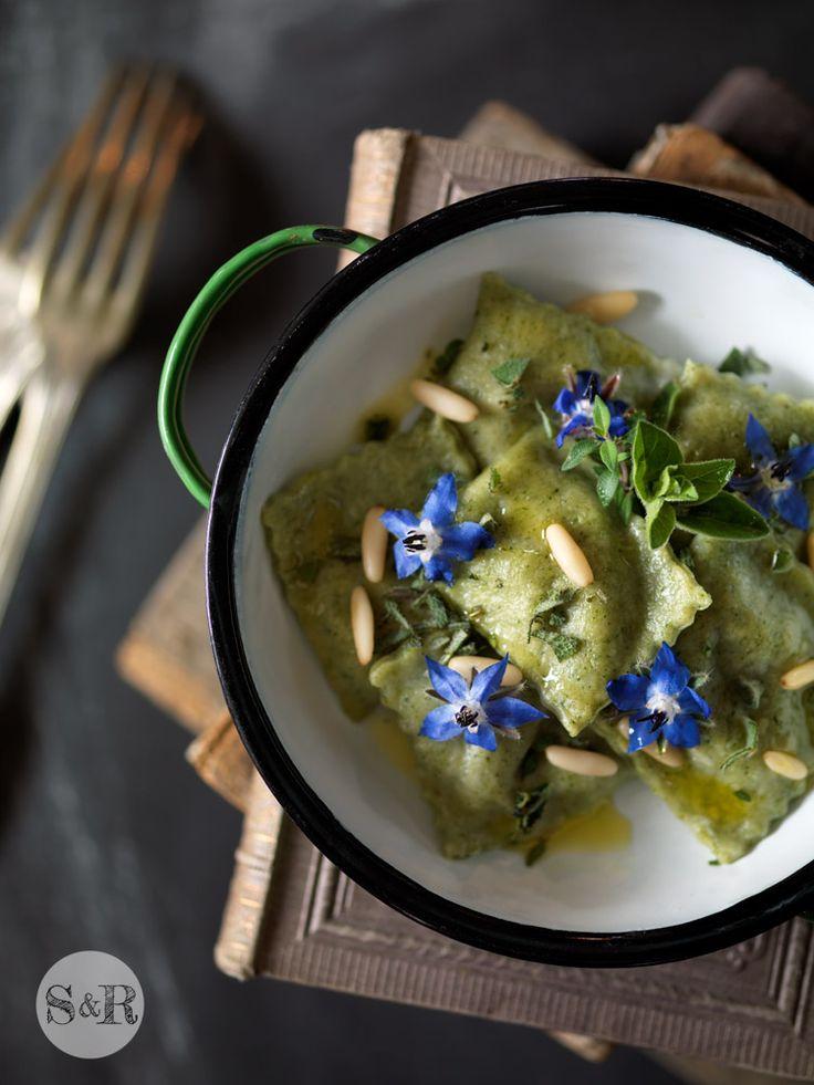 Una ricetta dal blog di Salvia e Rosmarino per usare la borragine del mio orto!