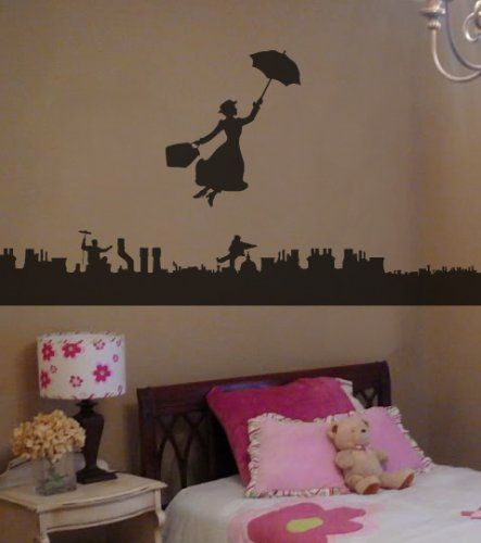 The timeless Mary Poppins .. perfect for a bedroom setting