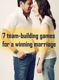 7 team-building games for a winning marriage. #marriage #games #date