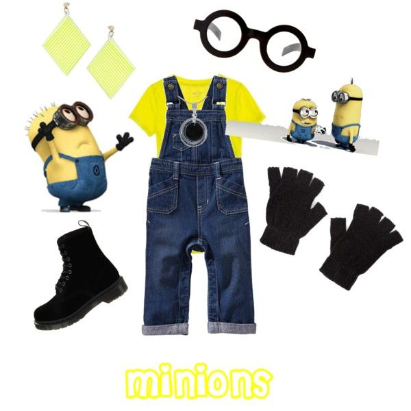 Minion Costume @Holly Elkins Elkins Gosa Madison's already planning on dressing like this with her friends for Halloween.