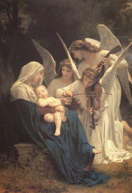 Professione Donna: Schema per il punto croce: La Vergine degli angeli