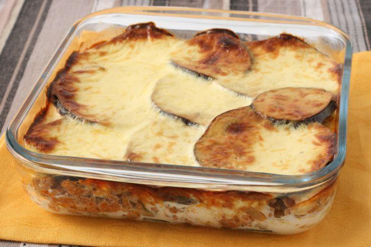 Baklažány pečené so syrom