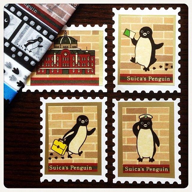 いいね!66件、コメント11件 ― フジコさん(@fujiko0707)のInstagramアカウント: 「切手モドキ、ペンスタ!のSuicaペンギン編。 #マステ #マスキングテープ #限定 #クラフトパンチ #シール #切手 #切手モドキ #Suica #ペンギン #東京駅」