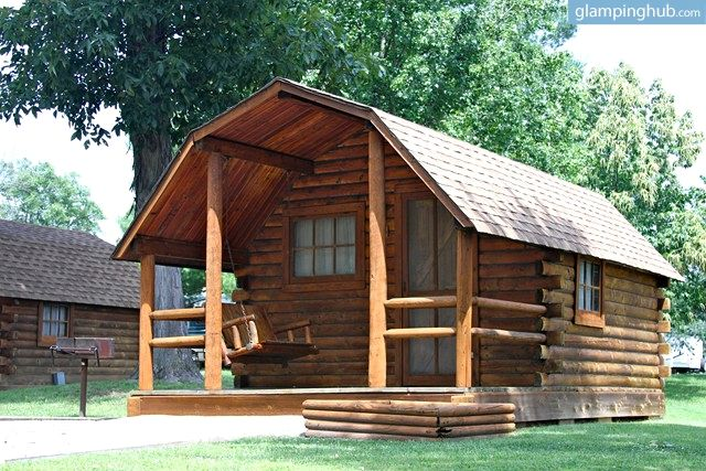 awesome #cabin in #missouri. #glampinghub #glamping