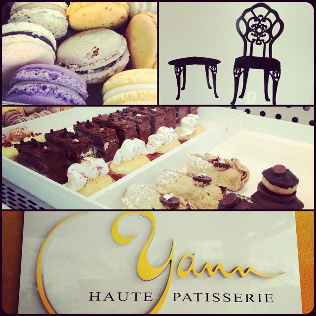 Yann Haute Patisserie, Calgary. Macarons and pastries!