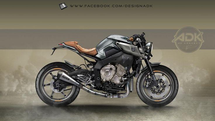 AD Koncept: рендеры Yamaha MT-10
