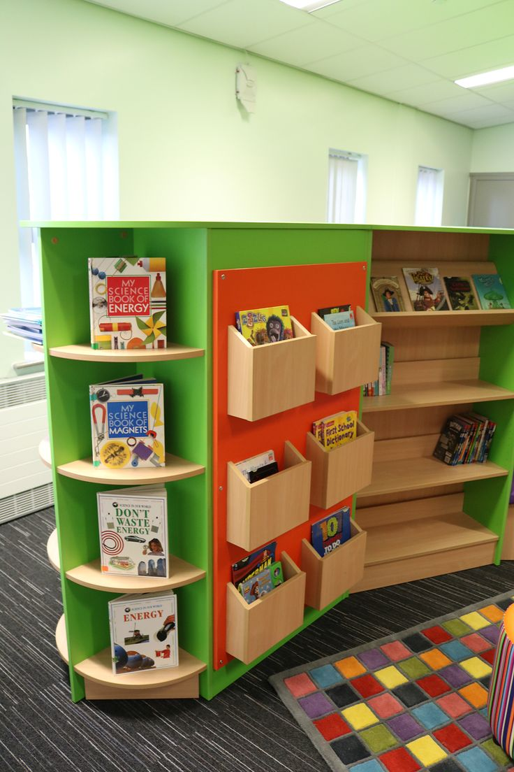 A School Library created by Incube Ltd for Yew Tree Primary School