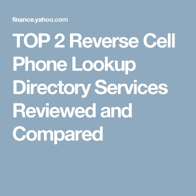 Comparison of the BEST Cell Phone Directories and 10 Tips for an Accurate Search Published by ReverseLookupAnything.com Chicago, IL, USA / ACCESSWIRE / June 19t