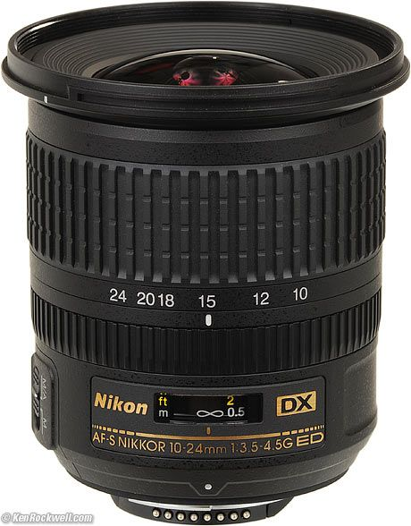 Nikon 10-24mm ultrawide lens
