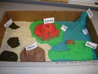 Best Landform Diorama Info  St Grade Images On