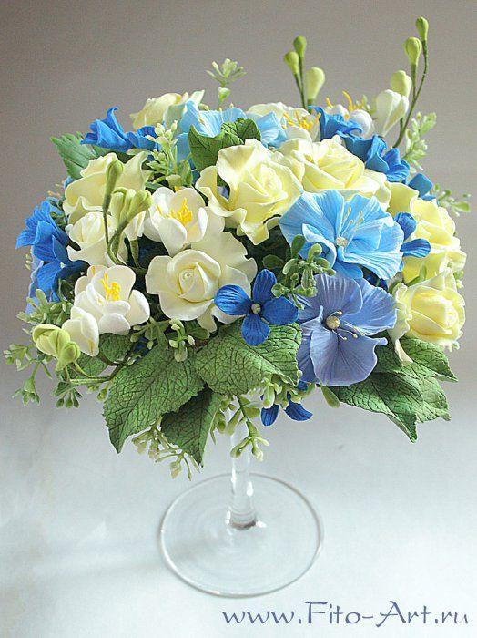 Цветы и бижутерия из полимерной глины
