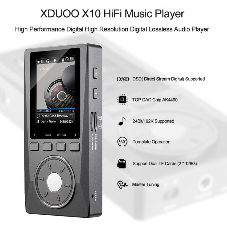 XDUOO X10 HiFi Lossless Music Sales Online - Tomtop