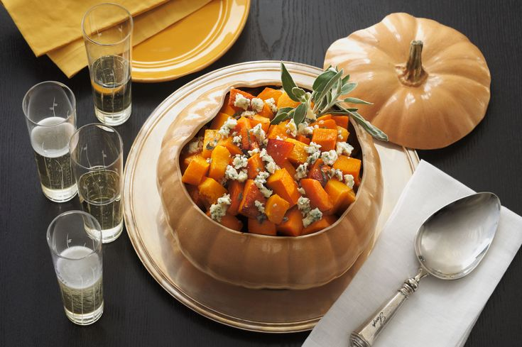 Roasted Butternut Squash with Sage and Castello® Blue Cheese | Castello Canada