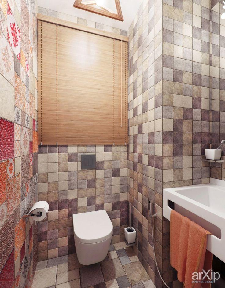 Гостевой сан/узел: интерьер, зd визуализация, квартира, дом, санузел, ванная, туалет, эклектика, 0 - 10 м2, интерьер #interiordesign #3dvisualization #apartment #house #wc #bathroom #toilet #eclectic #010m2 #interior
