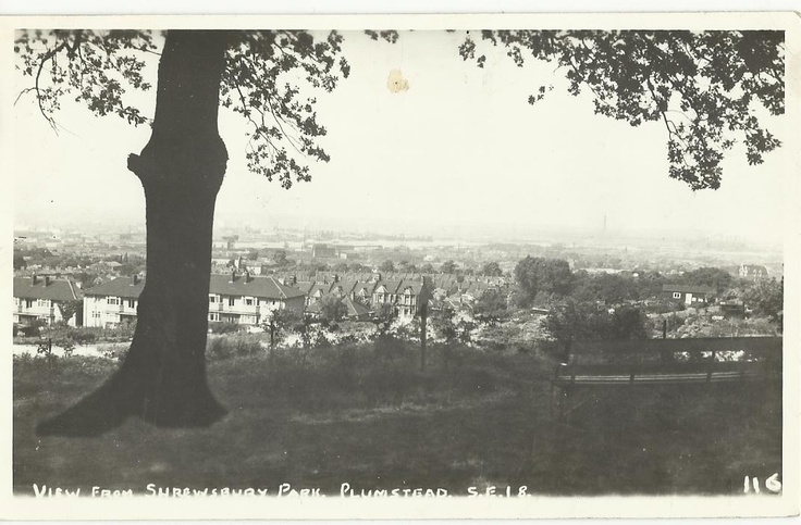 View From Shrewsbury Park, Plumstead SE18