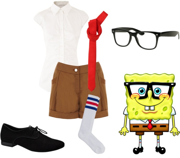 """spongebob"" by onedirectionfangurl on Polyvore"