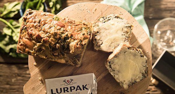 Gevuld Deens noten/groentenbrood