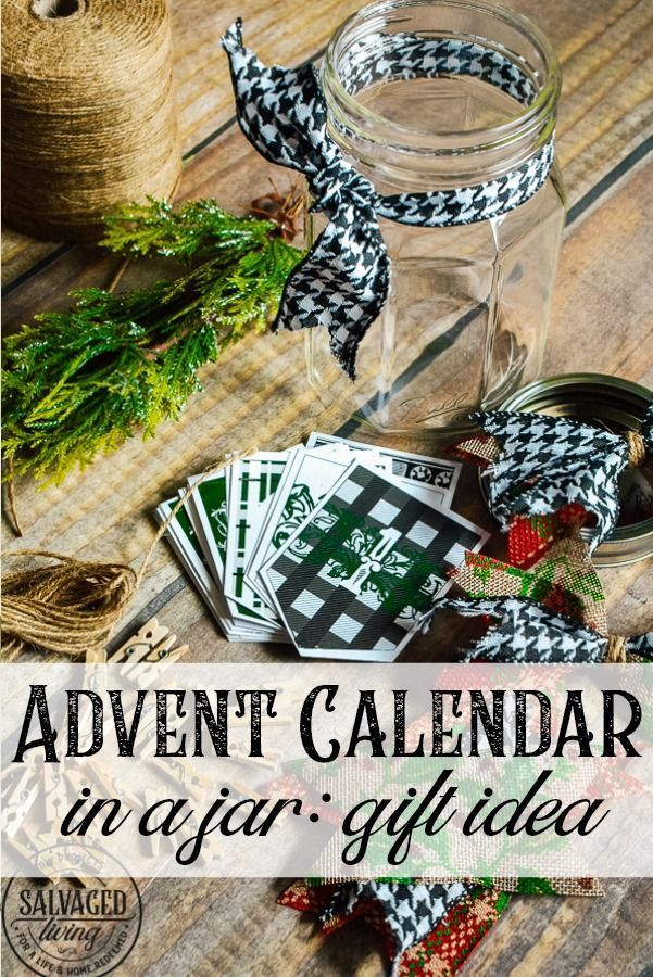 Christian Christmas Frames Printables Decorations Ideas 2020 Bible Verse Advent Calendar In A Jar   Salvaged Living in 2020