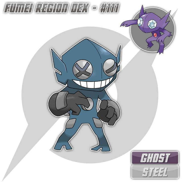 "Should Fumeian Sableye get a Mega evolution? Comment your opinion below! ⚜️ Fumeian Sableye, the Darkness Pokemon [Ghost/Steel] Non-evolving ⚜️ Height: 1'8"" (0.51m) Weight: 24.3 lbs (11.0 kg) ⚜️ Prankster // Sturdy ⚜️ HP - 50 ATK - 60 DEF - 100 SPATK - 50 SPDEF - 70 SPE - 50 ⚜️ ""It dwells in dark recesses of buildings. When it gets bored, it looks for machinery and dismantles it."" ""It is labeled as a pest for its constant dismantling of important machinery. It hordes shiny, metallic pieces…"