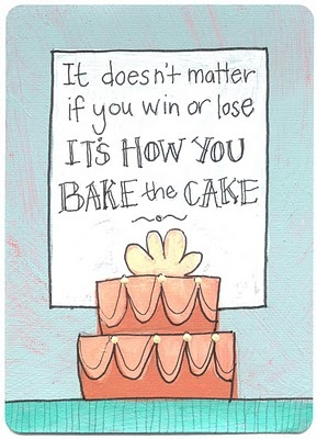 #quote #bake #cake