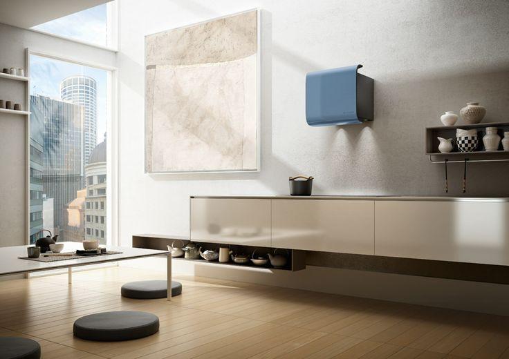 Cappe: Cappa Carrè da Faber | #design #tecnologia arredamento #cucina |