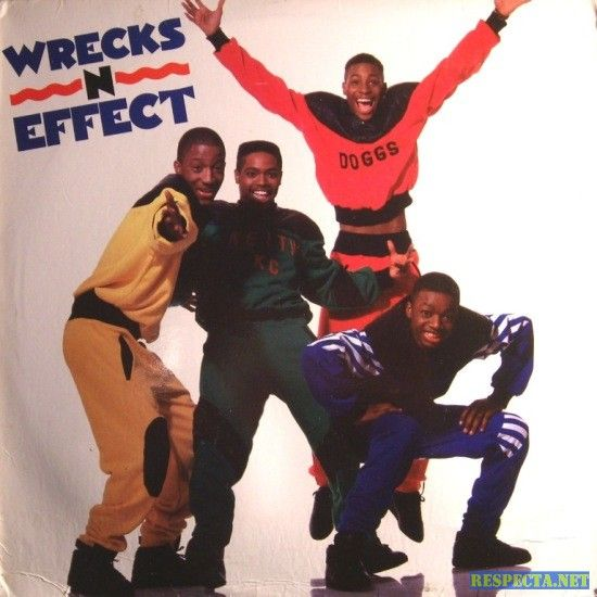 "Wreckx-n-Effect is an American new jack swing group from the United States who had the multi-platinum hit ""Rump Shaker"" in 1992, which was produced by Teddy Riley."