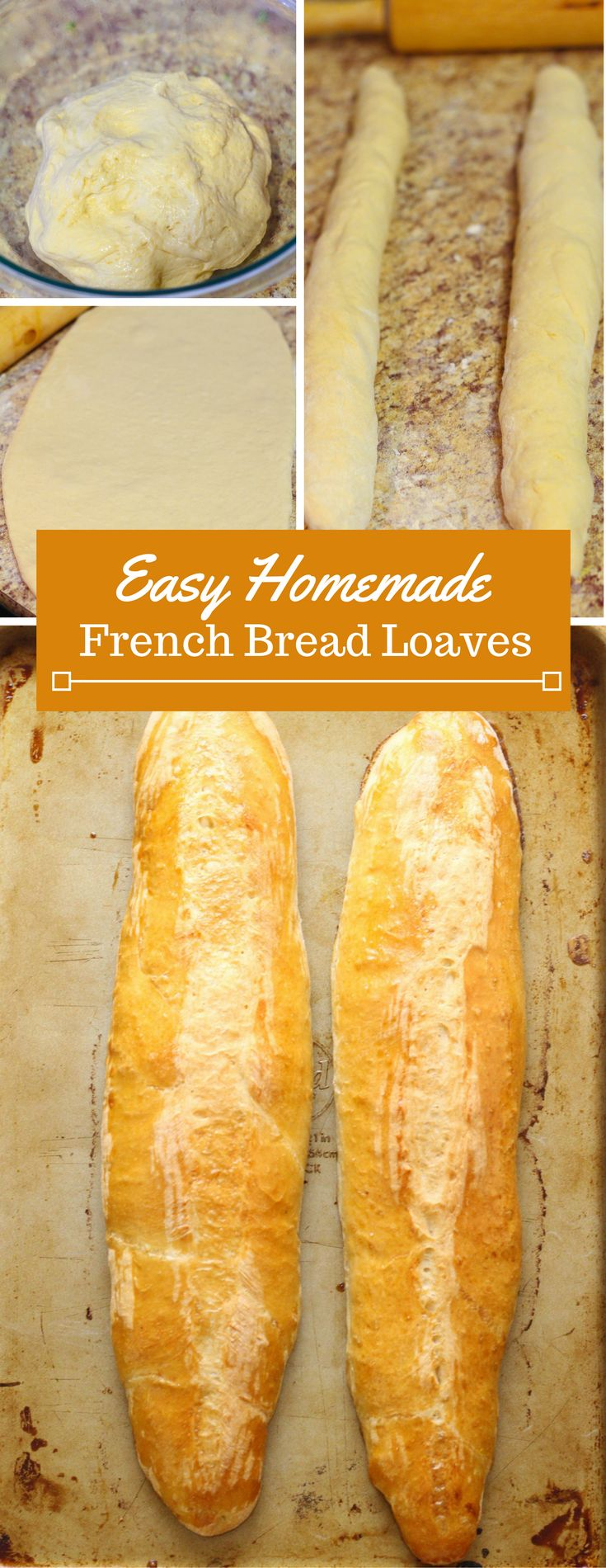 Fresh baked bread | Homemade bread | French bread | Easy baking recipe