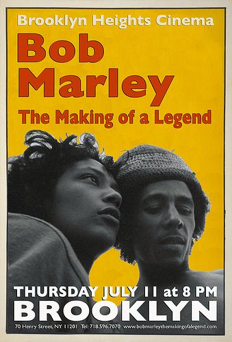 **Bob Marley** 'The Making of a Legend'. Film by