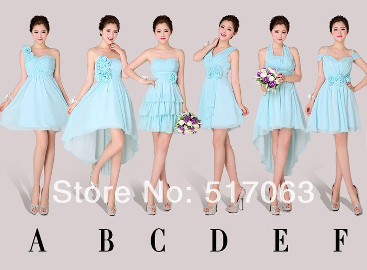 2014 Bridemaids  Dress  Each Robe de Formelle Hochzeit Party BrautjungfernKleid Girls Wedding Party Dress Novias -in Bridesmaid Dresses from Apparel & Accessories on Aliexpress.com | Alibaba Group