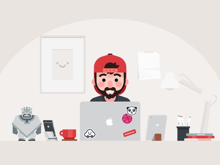 Workspace by Yasir Eryılmaz #Design Popular #Dribbble #shots