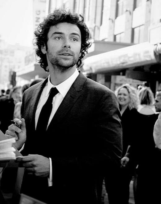 Aidan Turner at the premiere of The Hobbit: An unexpected Journey