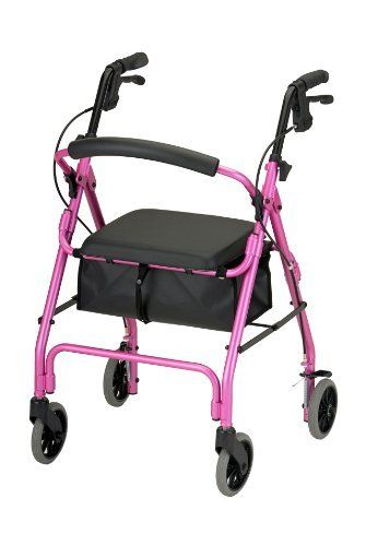 Nova Get Go Classic Rolling Walker, Pink by Nova. $78.45. Live life to the fullest with your Nova  the very best in Rolling Walkers.  Improve your overall mobility, safety, independence and style by selecting from Novas extensive line of Rolling Walker and Accessories. Novaas unique as you are. It is easy to carry and store personal belongings under seat storage pouch.. Save 35%!